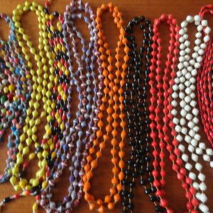 Beautiful various colored bead necklaces